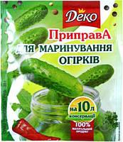 Приправа для марин. огурцов 30г Деко (4820076018091)
