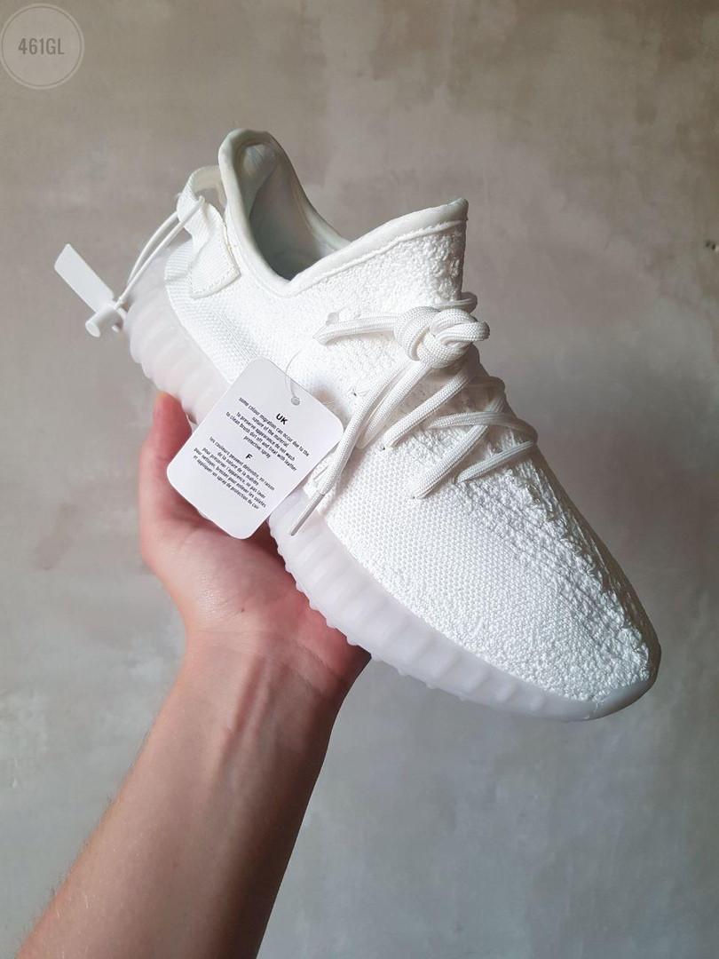 Женские кроссовки Adidas Yeezy Boost 350 V2 (белый) - 461GL