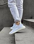 Женские кроссовки Adidas Yeezy Boost 350 V2 (белый) - 461GL, фото 3