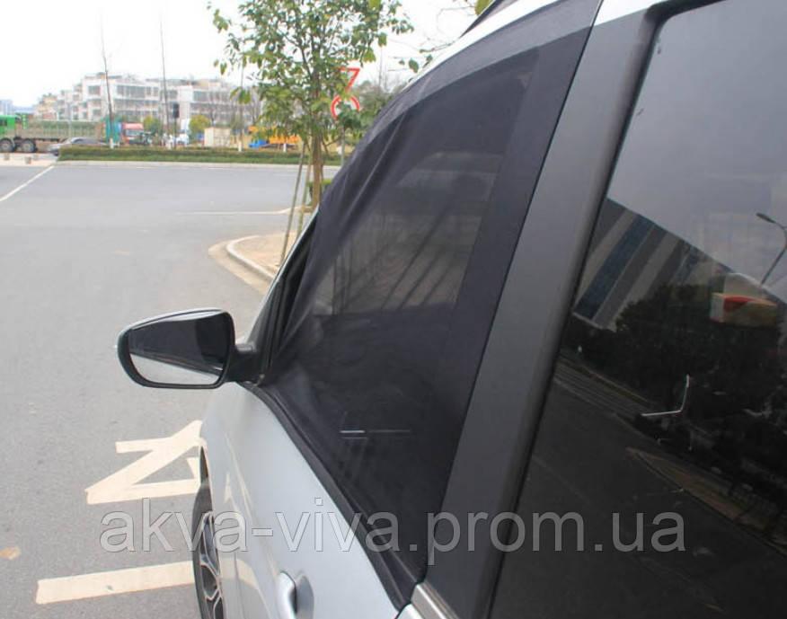Сетка для тонировки дверей автомобиля С обзором (АО-2010)