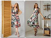 """Женское платье  """"запахом"""", фото 1"""