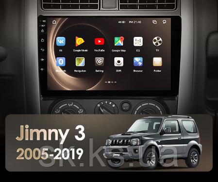 Junsun 4G Android магнитола для Suzuki Jimny 3 2005 - 2019