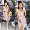 """Жіноче літнє плаття-сарафан в смужку """"Indiana""""В І, фото 3"""