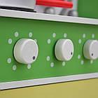 Детская игровая деревянная кухня Wooden Toys Frogi + набор посуды для детей, фото 7