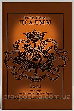 ТЕГИЛИМ – ПСАЛМЫ. Комментарий рава Шимшона Рафаэля Гирша (в 2-х томах)