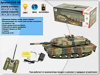 Радиоуправляемый танк Leclerc, большой, аккумуляторный, фото 1