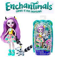"Кукла Enchantimals ""Лемур Лариса"" и питомец Энчантималс Mattel (GFN44)"