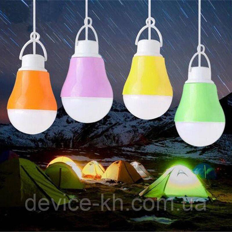 Портативная USB Led Лампа Для Походов Кемпинг для Дома
