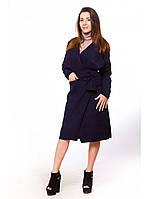 Модное пальто без подкладки из кашемира