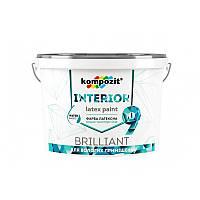 Краска для откосов и ванной комнаты Kompozit INTERIOR 9 /0.8л