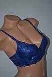 Бюстгальтер Ana Sweeney блестяш темно синий, фото 2