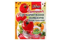 Приправа для марин.помидоров, перца, кабачков 30г Деко (4820076017964)