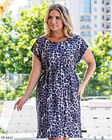 Платье женское летнее большие размеры Г05321, фото 1