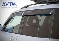 Дефлекторы окон (ветровики) Mitsubishi Pajero Wagon (широкие) 2000-2006;2006 -