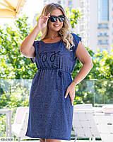 Платье женское летнее большие размеры Г05325/1, фото 1