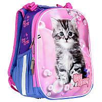 Школьный ортопедический ранец для девочек 1-3 классов, Cute Kitten