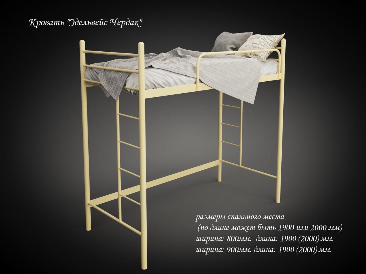 Кровать-чердак Эдельвейс