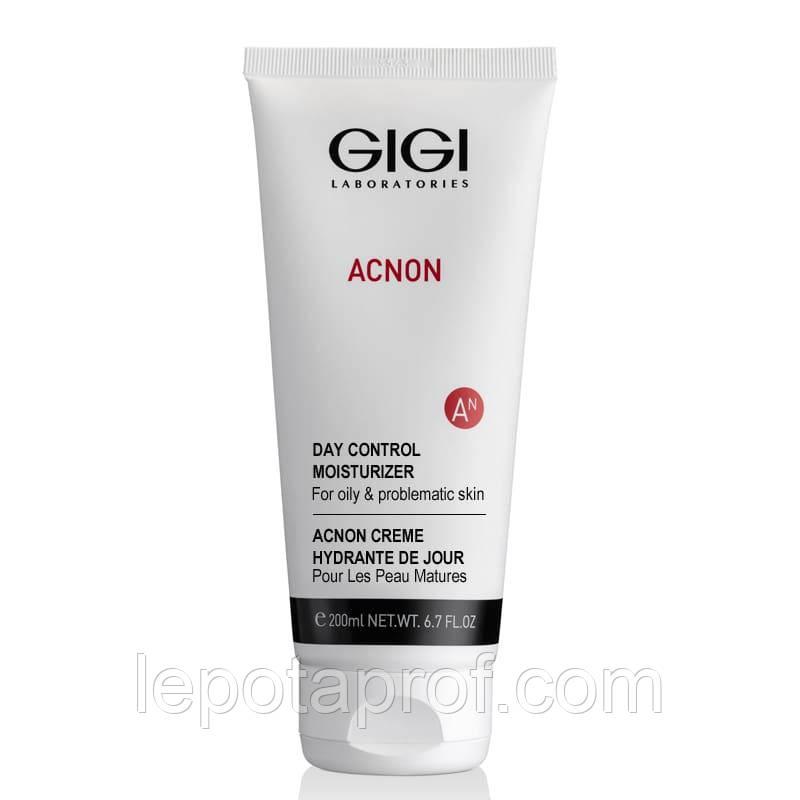 Дневной увлажняющий крем акнеконтроль для лица GIGI Acnon Day control moisturizer, 200 ml