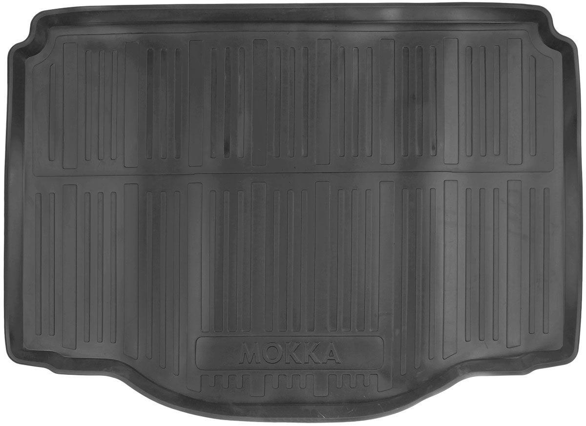 Коврик в багажник для Opel Mokka (12-) полиуретановый 111080101