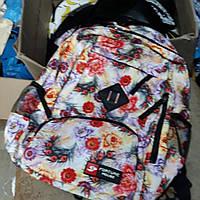 Рюкзак  спортивный городской с мишками  для стильных девушек