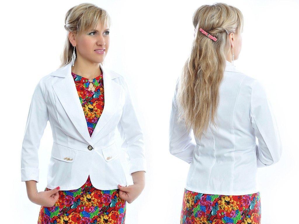 Классический стильный женский пиджак по низкой цене, разные цвета р.42,44,46,48 Код 294Ч
