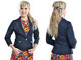 Классический стильный женский пиджак по низкой цене, разные цвета р.42,44,46,48 Код 294Ч, фото 2