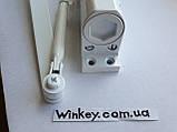 Дверной доводчик  FRD 1000 с ножницами белый, фото 2