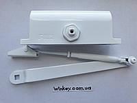 Дверной доводчик FRD1000 с ножницами белый