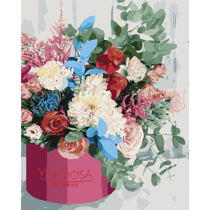 Картина по номерам  Изысканный букет, 40x50 см., Идейка