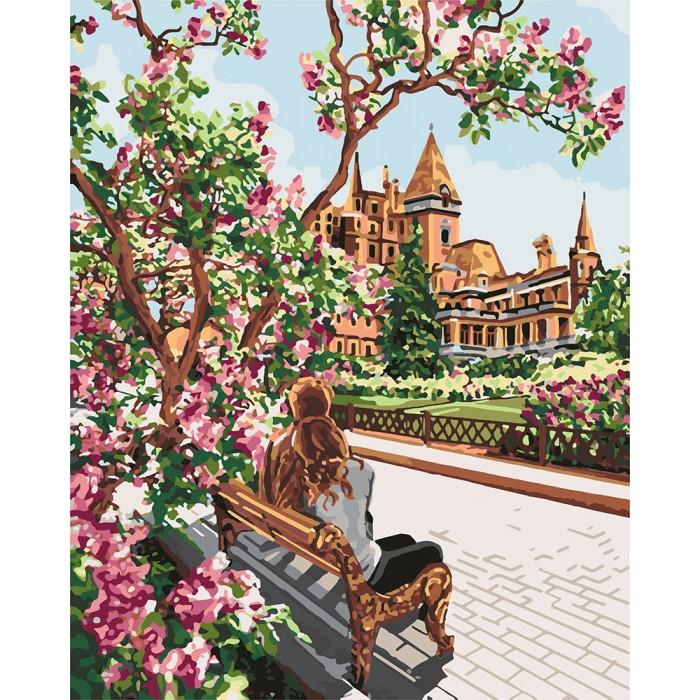 Картина по номерам КНО4717 Отдых в тени, 40x50 см., Идейка