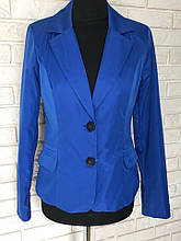 Класичний стильний жіночий піджак за низькою ціною р. 44 Код 020Ч