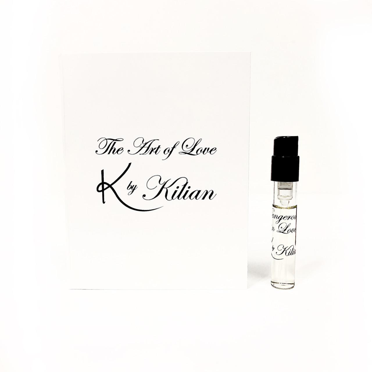 Пробники оригінальних парфумів Kilian Dangerously In Love 1,2 мл нішева парфумерія, деревно-квітковий аромат