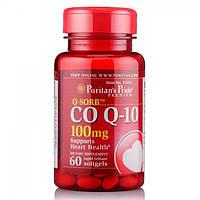 Коэнзим Puritan's Pride Q-SORB Co Q-10 100 mg 60 капсул