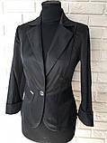 Классический стильный женский пиджак по низкой цене, разные цвета р.42,44,46,48 Код 294Ч, фото 4