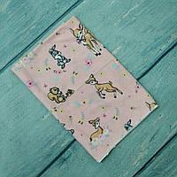 Фланелевая байковая пеленка для новорожденного