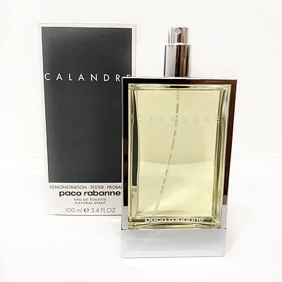 Вінтажні жіночі парфуми PACO RABANNE Calandre 100ml ТЕСТЕР туалетна вода, зелений квітково-деревний аромат