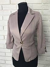 Класичний стильний жіночий піджак за низькою ціною р. 42,44,46 Код 021Ч