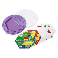 Детский Набор для обучения Gigo Занимательная мозаика, круглый  для детей от 3 лет