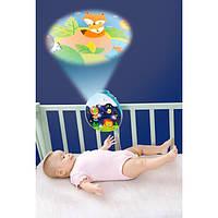 Мобиль на кроватку с проектором, детский музыкальный мобиль Hola Toys Ночное небо