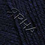 Пряжа для ручного вязания Морбидосо Италия цвет синий 390
