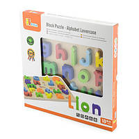 Детский Пазл Viga Toys Строчная буква алфавита для детей от 18 месяцев