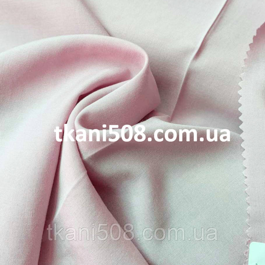 Штапель однотонний (7) Рожевий