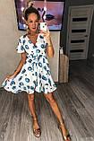 Женское платье с принтом, ткань котон, фото 3