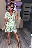 Женское платье с принтом, ткань котон, фото 2