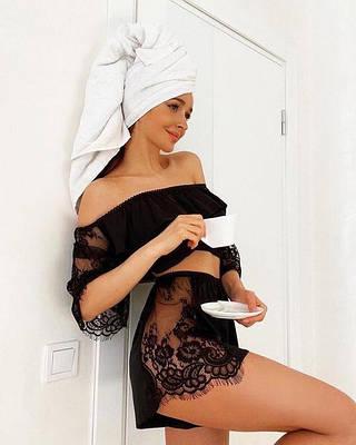 Женские пижамки с шортиками