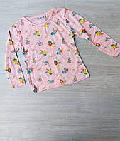 """Детский батник для девочки """"Цветы"""" 2-8 лет, цвет уточняйте при заказе"""