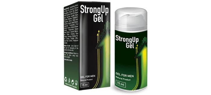 StrongUp Gel (СтронгАп Гель) - гель для потенции
