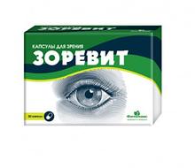 Зоревит - капсулы для улучшения зрения