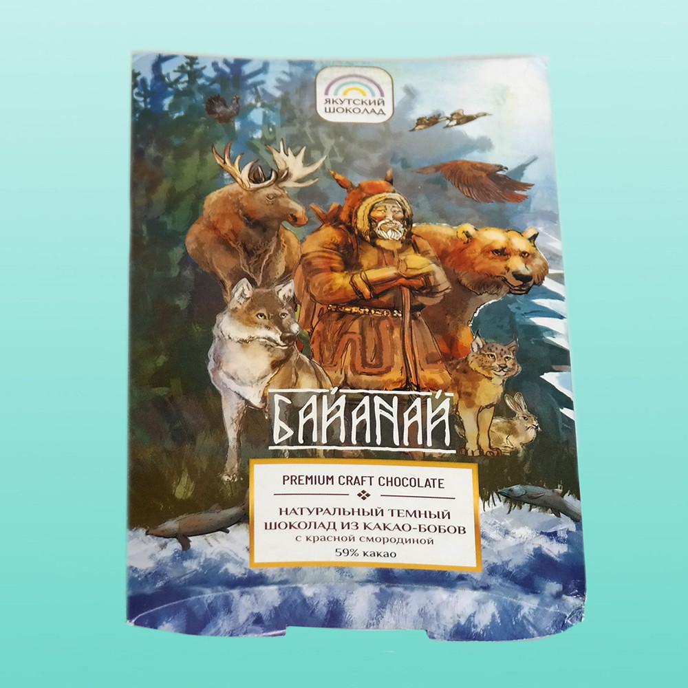 Натуральний темний шоколад Байанай, 80 р.