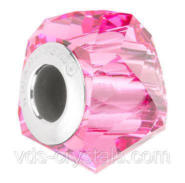 Пандора шармы от Swarovski Elements 5928 Light Rose